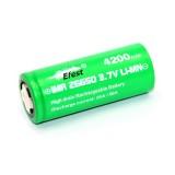 Batterie EFEST GREEN  26650 20A/50A - 4200 mAh