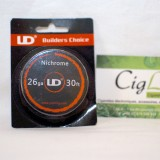 Nichrome 10 M 0.4mm (26AWG) UD