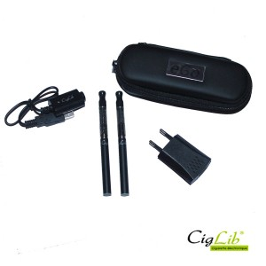 Kit DUO CigLib-510 nano (clearomizers nano et batteries manuelles)