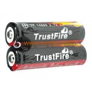 2 Batteries trustfire 14500 li-ion