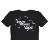 Tee shirt smoke different vape 100% coton