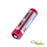 Batterie IMR Efest 18650 2000 mAh