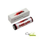 Batterie 18650 Efest  li-ion 3400 mAh