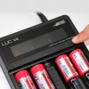 Chargeur V4 Efest LUC LCD (chargeur universel 4 canaux)