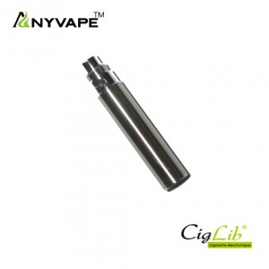 Batterie EGO C2 upgrade 650 mAh stainless (ANYVAPE)