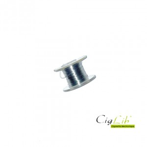 Kanthal ribbon wire 0.1x0.5 mm - bobine de 10M