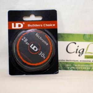 Nichrome 10 M 0.3mm (28AWG) UD