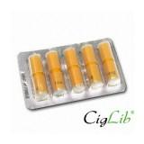 Boite 5 recharges vides pour cigarette electronique CigLib-808D